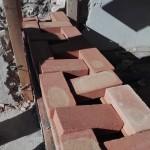 cordolo in muratura - prova di montaggio
